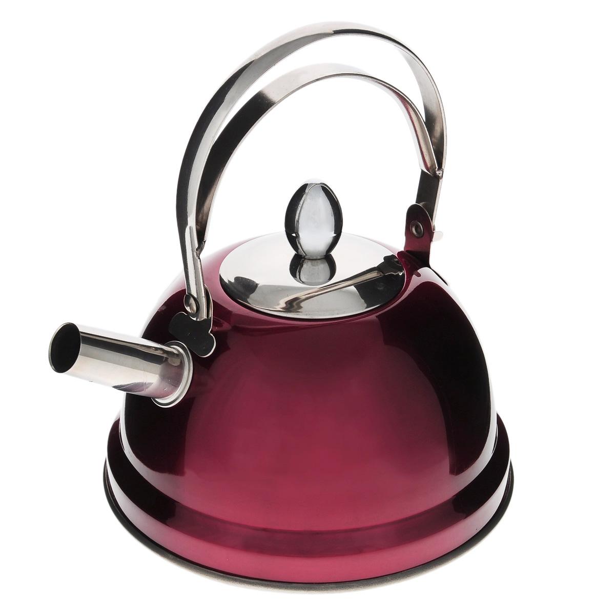 Чайник Bekker De Luxe, с ситечком, цвет: красный, 0,8 л. BK-S430BK-S430Чайник Bekker De Luxe выполнен из высококачественной нержавеющей стали, что обеспечивает долговечность использования. Внешнее цветное зеркальное покрытие придает приятный внешний вид. Капсулированное дно распределяет тепло по всей поверхности, что позволяет чайнику быстро закипать. Эргономичная подвижная ручка выполнена из нержавеющей стали. Чайник снабжен ситечком для заваривания. Можно мыть в посудомоечной машине. Пригоден для всех видов плит, включая индукционные. Диаметр (по верхнему краю): 5 см.Высота чайника (без учета крышки и ручки): 8 см.Высота чайника (с учетом ручки): 17,5 см.Диаметр основания: 14 см. Толщина стенки: 0,5 мм.Высота ситечка: 5,5 см.