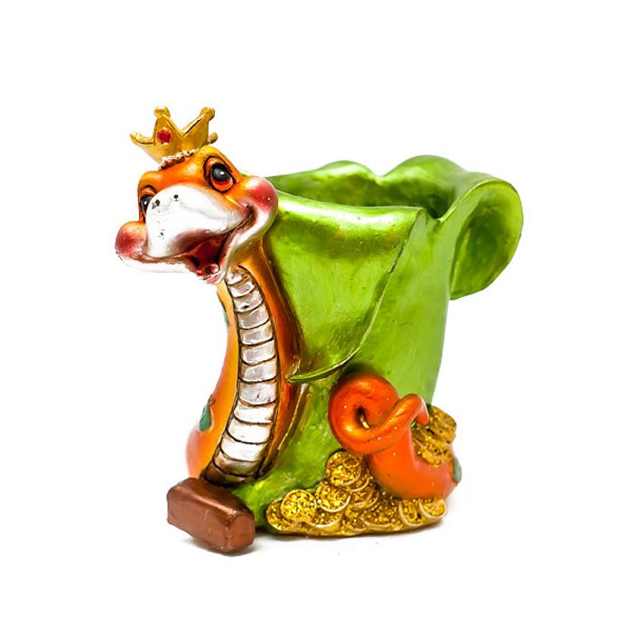 Подставка декоративная под ручки Lunten Ranta  Фруктовая змея  -  Органайзеры, настольные наборы