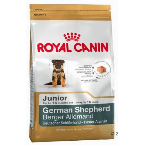 Корм сухой Royal Canin German Shepherd Junior, для щенков собак породы немецкая овчарка до 15 месяцев, 12 кг купить щенка немецкая овчарки белого окраса цена видео картинки