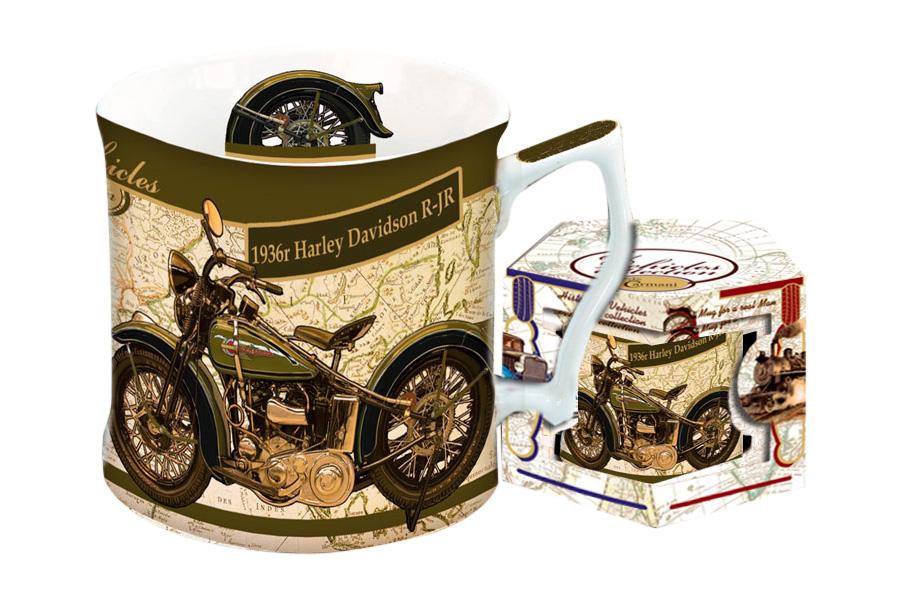 Кружка Carmani Харлей Дэвидсон 1936 г, 450 млCAR2-016-0008-ALКружка Carmani Харлей Дэвидсон 1936 г выполнена из высококачественного фарфора и оформлена красочным изображением мотоцикла. Такая кружка сделает чаепитие еще приятнее. Может послужить приятным и практичным сувениром.Объем: 450 мл.Диаметр кружки по верхнему краю: 9 см.Высота кружки: 9 см.