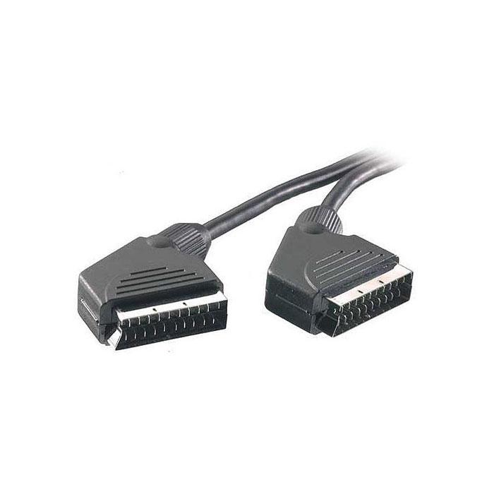 Vivanco кабель видео, стерео, Scart-Scart, 21 pin, 3 м vivanco кабель usb 2 0 a в black 1 8 м