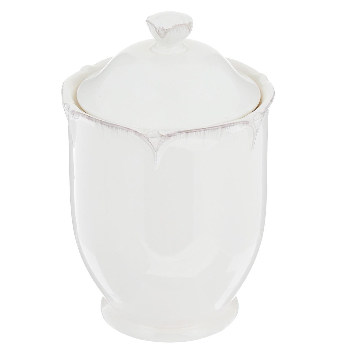 Банка для сыпучих продуктов Lillo Ideal, цвет: молочный, 700 мл банка для чая lf ceramic лаванда 700 мл