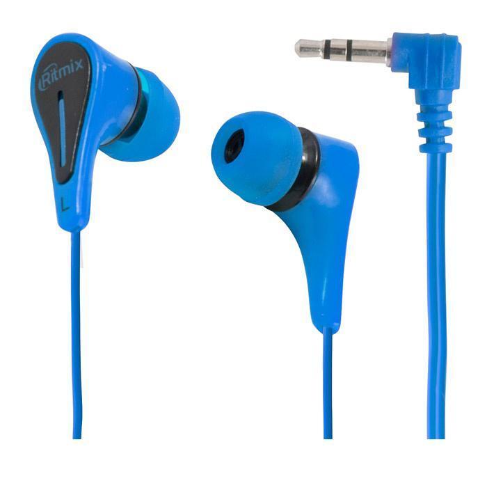 Ritmix RH-012, Blue наушники