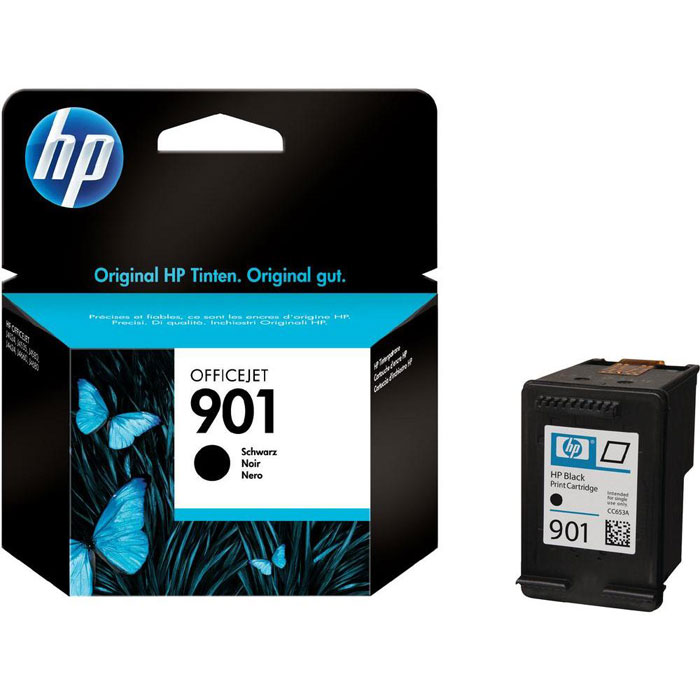 HP CC653AE (901), Black струйный картридж для OfficeJet 4500/J4580/J4660 new for huawei mediapad t1 8 0 pro 4g t1 823l t1 821l t1 821w t1 821 replacement lcd display touch screen assembly white