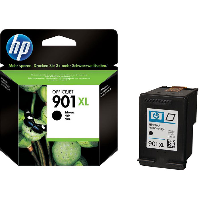 HP CC654AE (901XL), Black струйный картридж для OfficeJet 4500/J4580/J4660 henkel pattex 107 901 801 cg80