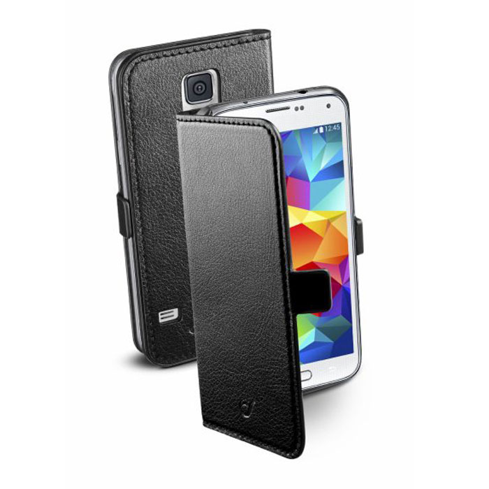 Cellular Line Book Essential чехол для Samsung Galaxy S5 (20686), Black cellular line 34572