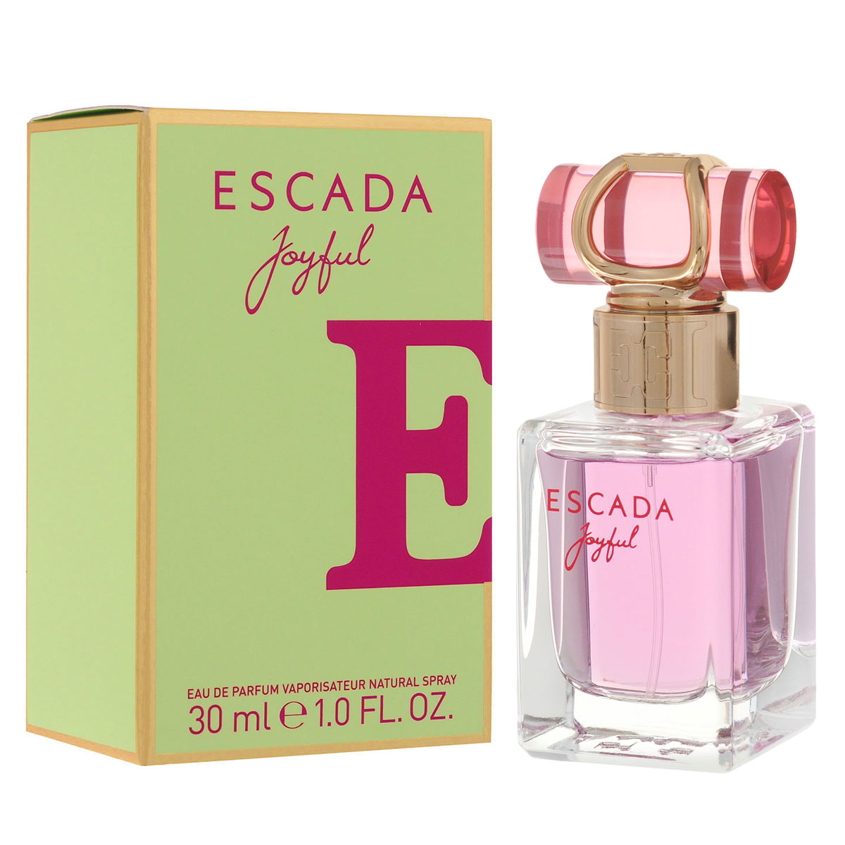 Escada Парфюмерная вода Joyful, женская, 30 мл0737052778266Нежный и легкий, словно мерцающая утренняя роса, ESCADA Joyful – это восхитительный цветочный аромат. Насыщенный аромат магнолии и розового пиона придает аромату глубину, выразительность и изысканный характер. Верхние ноты Аромат открывается аккордом сорбета из черной смородины, который дарит коже ощущение свежести и прохлады. Энергичные ноты мандарина и дыни придают композиции игривость и свободу духа. Сердечные ноты Фруктовые аккорды гармонично дополняются нотами листьев фиалки, в то время как розовый пион добавляет жизнерадостности. Натуральное масло магнолии придает особую свежесть, которую усиливают острые ноты розовой фрезии и цикламена. Базовые ноты Теплый шлейф содержит уникальный компонент, Florimoss, придающий композиции землистые оттенки, окутанные нотами теплого сливочного сандалового дерева и роскошных медовых сот. Все это создает идеальное обрамление и добавляет насыщенности цветочным ингредиентам. Верхняя нота: сорбет из черной смородины, мандарина и дыни. Средняя нота: листья фиалки, розовый пион и цикламен. Шлейф: сандаловое дерево и роскошные медовые соты. Аромат наполнен нотами свежайших розовых пионов в обрамлении подернутых росой белых цветов. Дневной и вечерний аромат.