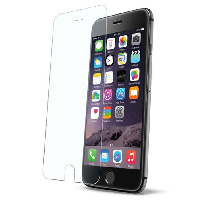 Cellular Line Second Glass защитное стекло для iPhone 6 PlusTEMPGLASSIPH655Cellular Line Second Glass - прочная защитная пленка для вашего смартфона. Обеспечивает более высокий уровень защиты по сравнению с обычной пленкой. При этом яркость и чувствительность дисплея не будут ограничены. Препятствует появлению воздушных пузырей и надежно крепится на экране устройства.