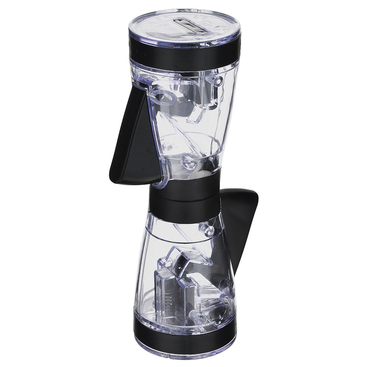 Мельница для соли и перца Fackelmann, комбинированная, высота 20,5 см47306Мельница для Fackelmann выполнена высококачественного пластика с прозрачным окошком и предназначена для соли и перца. Мельница оснащена двумя отдельными отделениями и двумя регулируемыми механизмами помола из керамики и нержавеющей стали. Механизм приходит в действие простым нажатием на кнопку. Отделения с солью и перцем можно использовать отдельно друг от друга. Мельница Fackelmann добавит вашим блюдам яркие вкусовые краски. Она удобна в использовании и имеет яркий современный дизайн, который станет ярким акцентом в интерьере вашей кухни.