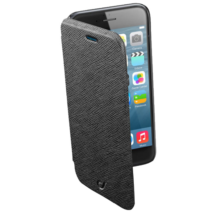 Cellular Line Book Color чехол для iPhone 6, Black (21835) cellular line 34572