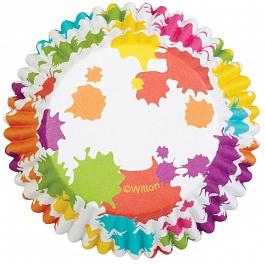 Набор бумажных форм для кексов Wilton Радуга, диаметр 5 см, 36 шт