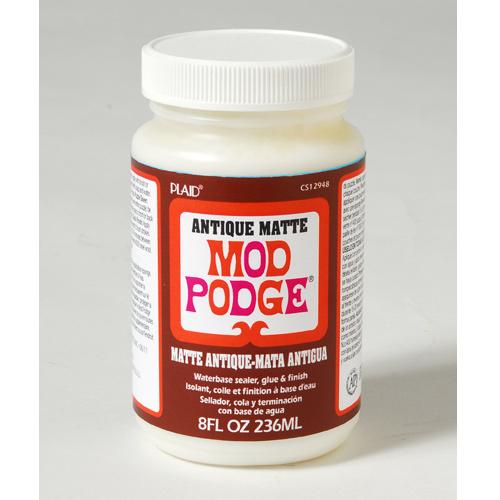 Клей для декупажа Mod Podge  Матовый Антик , 236 мл -  Клей
