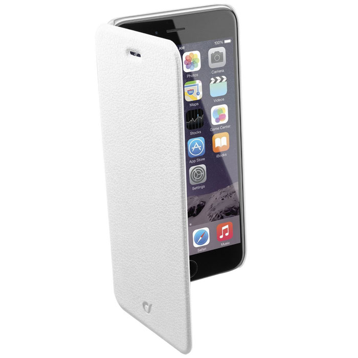 все цены на Cellular Line Book Essential чехол для iPhone 6, White (21829) онлайн
