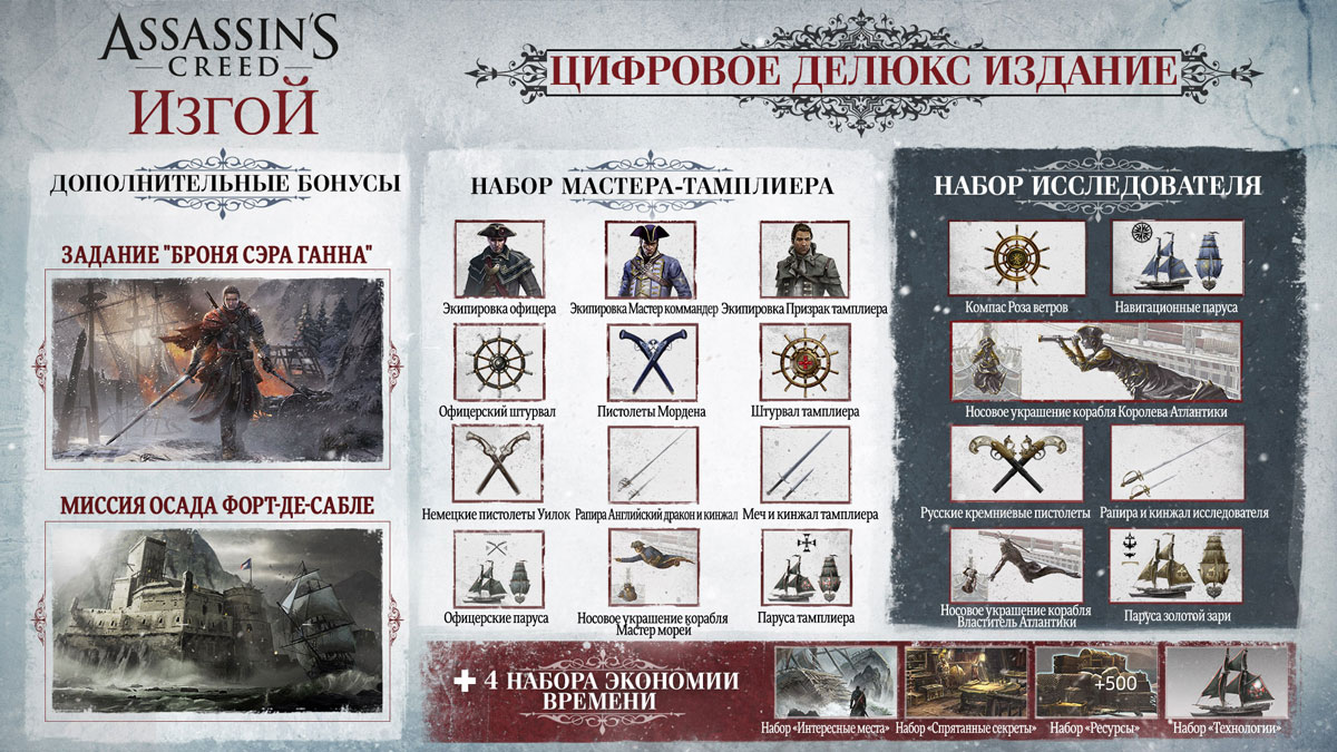 Assassin's Creed: Изгой Deluxe Edition Ubisoft Entertainment