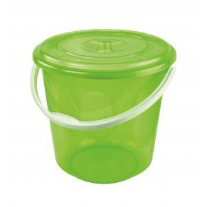 Ведро Альтернатива Хозяюшка, с крышкой, цвет: зеленый, 10 лМ1213Ведро Альтернатива Хозяюшка изготовлено из высококачественного пластика и оснащено отметками литража. Оно легче железного и не подвержено коррозии. Ведро имеет удобную пластиковую ручку и плотно прилегающую крышку. Такое ведро станет незаменимым помощником в хозяйстве. Идеально для хранения пищевых отходов.Диаметр: 27 см.Высота (без учета крышки): 26 см.