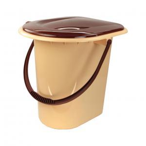 Ведро-туалет ПМ 17л корич М1319М1319Ведро-туалет ПМ 17л корич М1319Уважаемые клиенты!Обращаем ваше внимание на возможные изменения в цвете некоторых деталей товара. Поставка осуществляется в зависимости от наличия на складе. Пластик