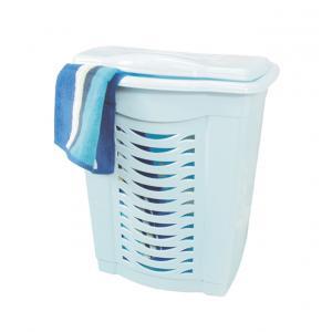 Корзина60л д/белья голубойМ1361Корзина60л д/белья голубой Пластик