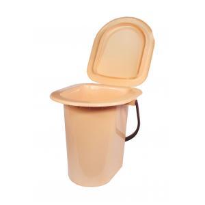 Ведро-туалет 18л бежМ1525Ведро-туалет 18л бежУважаемые клиенты!Обращаем ваше внимание на возможные изменения в цвете некоторых деталей товара. Поставка осуществляется в зависимости от наличия на складе. Пластик