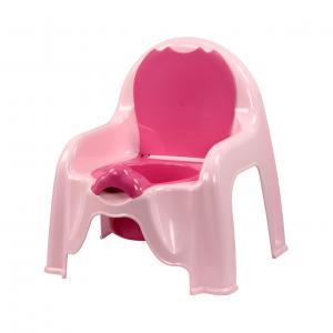 """Горшок-стульчик """"Альтернатива"""", с крышкой, цвет: розовый"""
