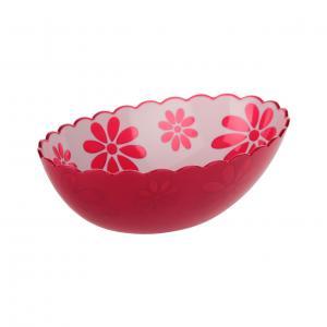Салатник Альтернатива Соблазн, цвет: красный, 1,3 лМ2311Салатник Альтернатива Соблазн выполнен из высококачественного пластика. Изделиедоставит истинное удовольствие ценителям прекрасного. Яркий дизайн, несомненно, придется вам по вкусу.Салатник Альтернатива Соблазн украсит ваш кухонный стол, а также станет замечательным подарком к любому празднику.Объем: 1,3 л.