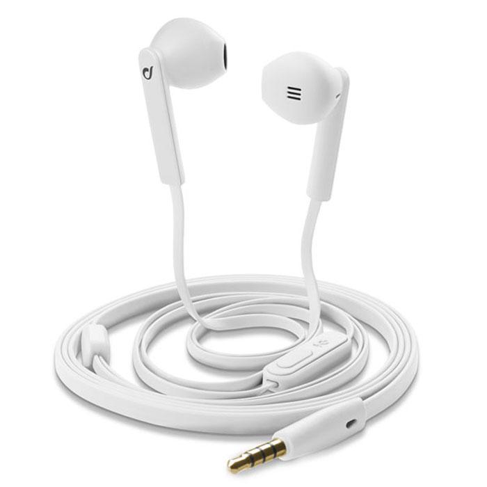 Cellular Line Mantis гарнитура, White (20502)MANTISWУниверсальная и легкая проводная стерео гарнитура Cellular Line Mantis гарантирует идеальное качество звука и насыщенное звучание благодаря глубоким низким частотам. Управлять текущими и входящими вызовами можно простым нажатием клавиши для ответа/завершения вызова на встроенном пульте дистанционного управления.