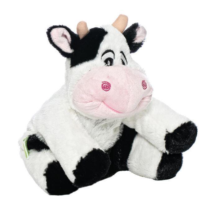 Мягкая игрушка-грелка Корова, 30 см мягкие игрушки теплые объятия игрушка грелка олень