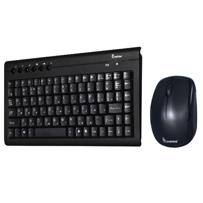 Smartbuy SBC-20313AG-K, Black клавиатура + мышьSBC-20313AG-KSmartBuy 20313AG - это беспроводной комплект, состоящий из клавиатуры и мыши. Энергоэффективная технология позволяет работать долгое время на одном комплекте батареек. Компьютерная мышь высокого разрешения подходит как для игр, так и для офисной работы.