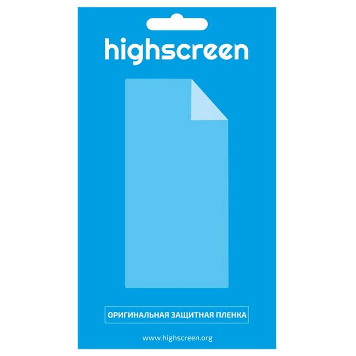 Highscreen оригинальная защитная пленка для Zera F (rev. S), матовая чехол для highscreen zera s черный