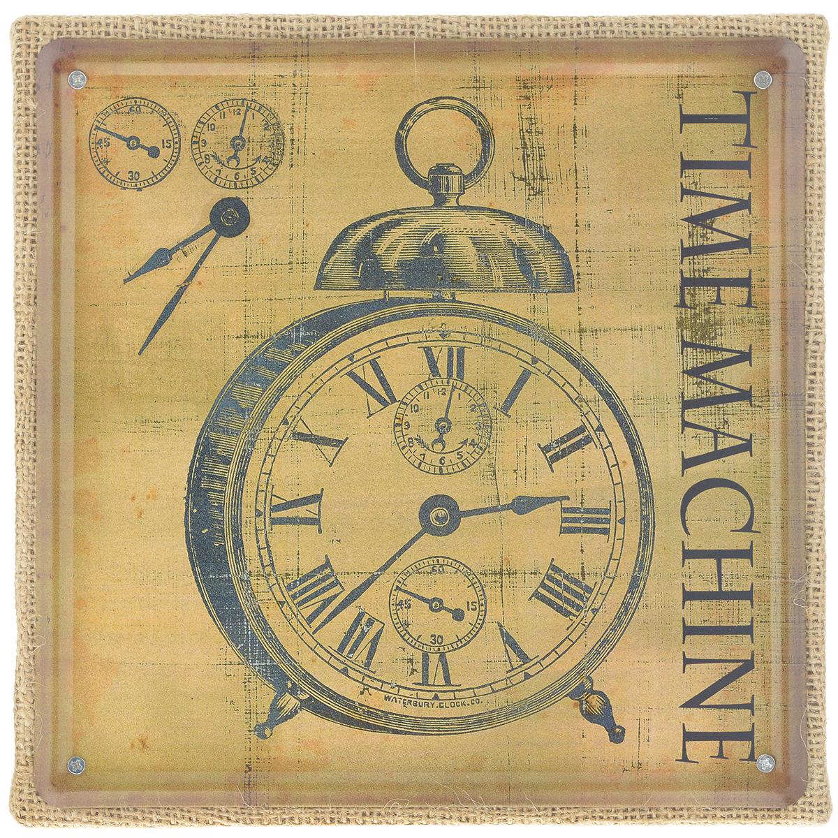 Постер в рамке Феникс-презент Часы, 20 см х 20 см37428Постер Феникс-презент Часы выполнен из черного металла в рамке из МДФ, которая обтянута натуральным льном. На постере изображены старинные часы и надпись Time machina. Постер в раме заинтересует всех любителей оригинальных вещиц и доставит массу положительных эмоций своему обладателю.Из мелочей складывается стиль интерьера. Постер в рамке Феникс-презент Часы одна из тех деталей, которые придают дому обжитой вид и создают ощущение уюта.Размер постера 20 см х 20 см. Размер с рамки: 21 см х 21 см х 2 см.