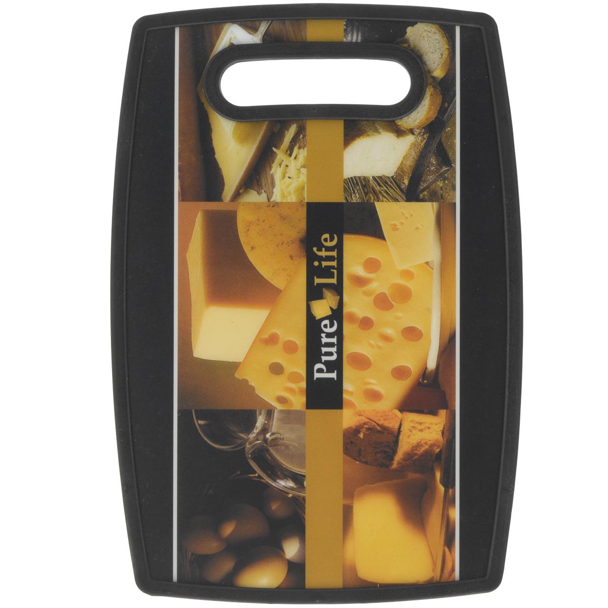 Доска разделочная LaraCook Сыр, 20 см х 30 смLC-1122Доска разделочная LaraCook Сыр, изготовленная из устойчивого к истиранию пластика, займет достойное место среди аксессуаров на вашей кухне. С одной стороны доска имеет однотонное бамбуковое покрытие, а с другой декорирована изображением сыра.Доска имеет высокий коэффициент жесткости и прекрасно подойдет для нарезки любых продуктов. Устойчива к деформации и высоким температурам.