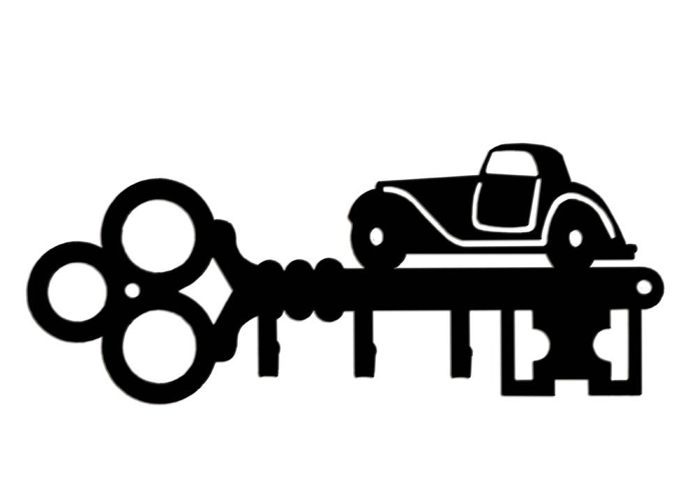 """Ключница Duck&Dog """"Автомобиль"""", 19 x 8 x 1,5 см"""
