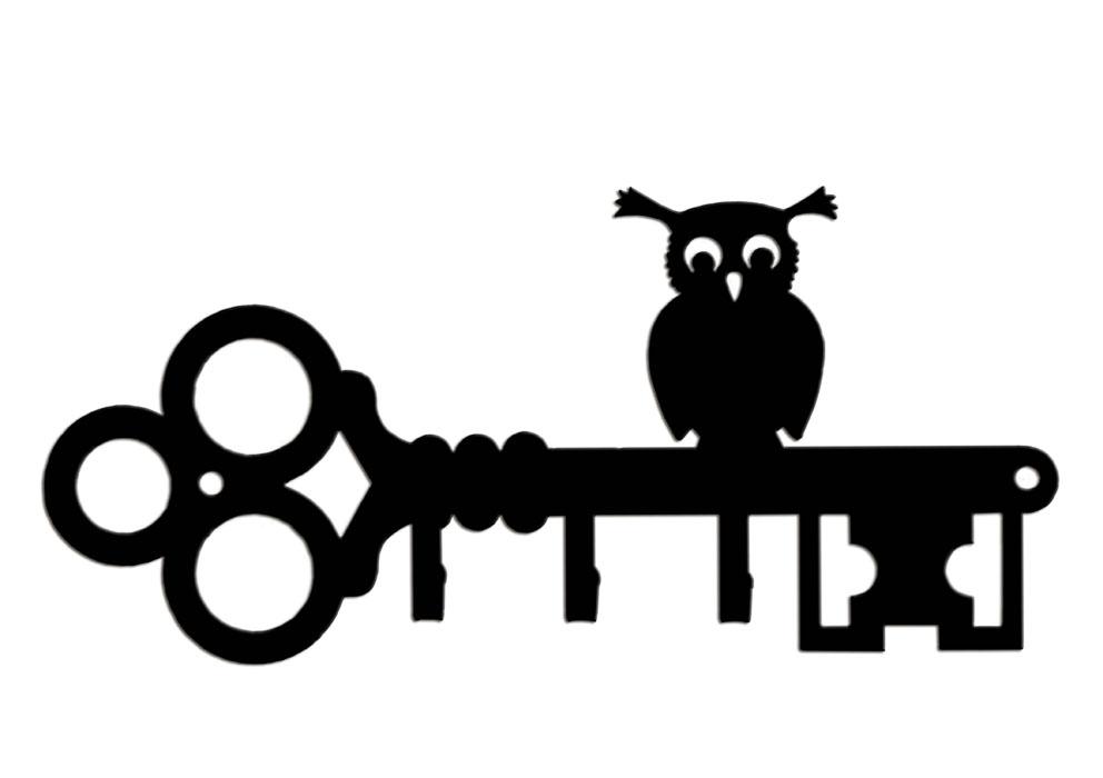Ключница Duck&Dog Сова, 19 x 9 x 1,5 смKEY-3-005Замечательная ключница Duck&Dog Сова не только удобная и функциональная деталь вашего интерьера, но и удивительно забавная и оригинальная вещичка. Она прекрасно подойдет для вашего дома и не займет много места, надежно выдержав не только ключи, но и все, что вы на нее повесите. Ключница изготовлена из сплавов прочных металлов и покрыта специальной порошковой краской, что гарантирует долговечность срока службы. Ключница крепится к стене с помощью двух шурупов (входят в комплект). Размер ключницы: 19 см x 9 см x 1,5 см.