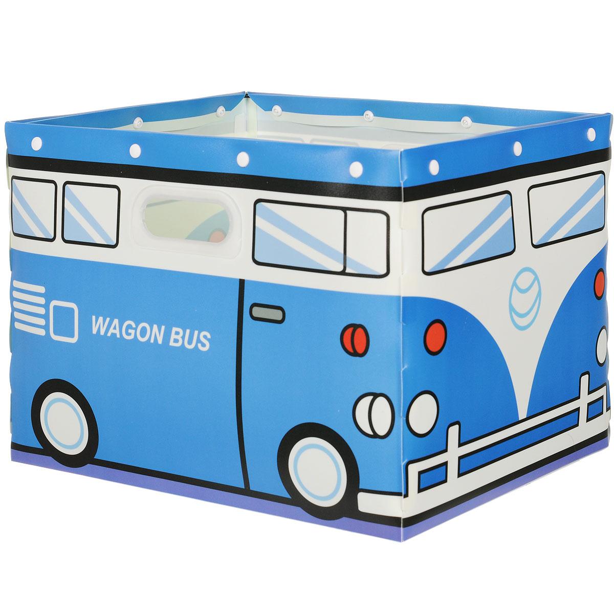 Коробка для хранения House & Holder, цвет: синий, 38 см х 30 см х 27 смDB-59Коробка для хранения House & Holder изготовлена из пластика и металла. Благодаряспециальным вставкам, коробка прекрасно держит форму. Стильный дизайн коробкихорошовпишется в интерьер детской комнаты. Внутренняя емкость позволяет хранить внутриразличныевещи и мелкие аксессуары. При необходимости легко складывается в плоскую, компактную форму. Коробка оснащена удобными ручками-отверстиями для переноски. Коробка House & Holder - идеальное решение для аккуратного хранения вещей иаксессуаров.