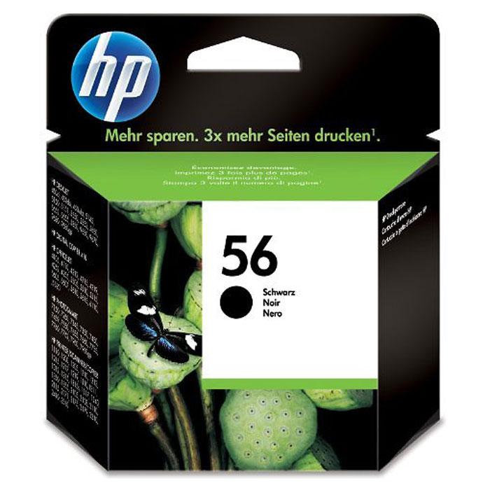 HP C6656AE (56), Black струйный картридж hp cn053ae 932xl black струйный картридж