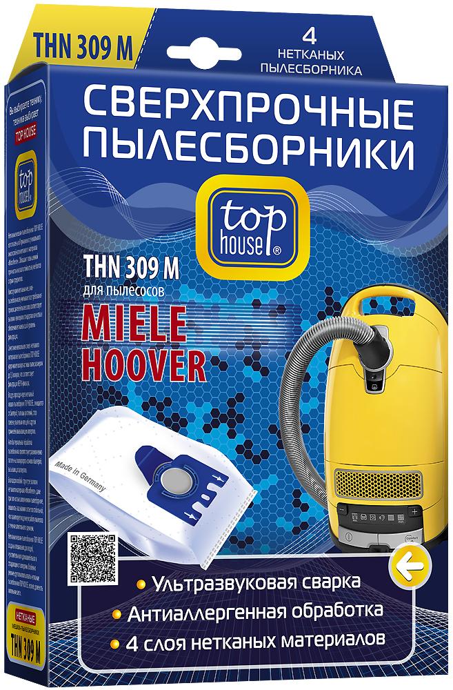 Top House THN 309 M нетканые пылесборники (4 шт.)