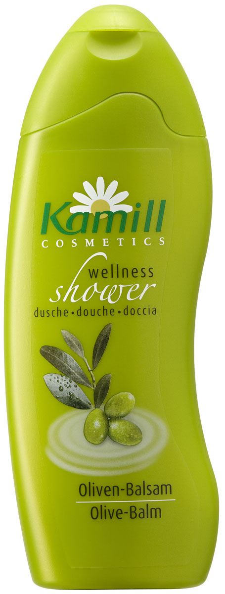 Kamill Гель-бальзам для душа Оливки, 250 млBMB20NГель содержит оливковое масло, которое идеально подходит для смягчения и придания бархатистости сухой коже. Масло содержит много жирных кислот, которые помогают восстановить жировой баланс кожи, а также антиоксидантов, которые защищают кожу и делают ее бархатистой. Препятствует потере клетками влаги, не забивает поры кожи.Линия гелей для душа Kamill балует кожу натуральными экстрактами растений и нежными ароматами. Выберите свой любимый аромат. Все гели прекрасно пенятся, легко наносятся на кожу и хорошо смываются, оставляя ощущение свежести и чистоты. Гели для душа Kamill отличаются превосходным качеством и широчайшей линейкой современных ароматов. Немецкое качество по доступной цене. Прекрасно ухаживают за кожей тела, содержат вещества для увлажнения кожи. Товар сертифицирован.