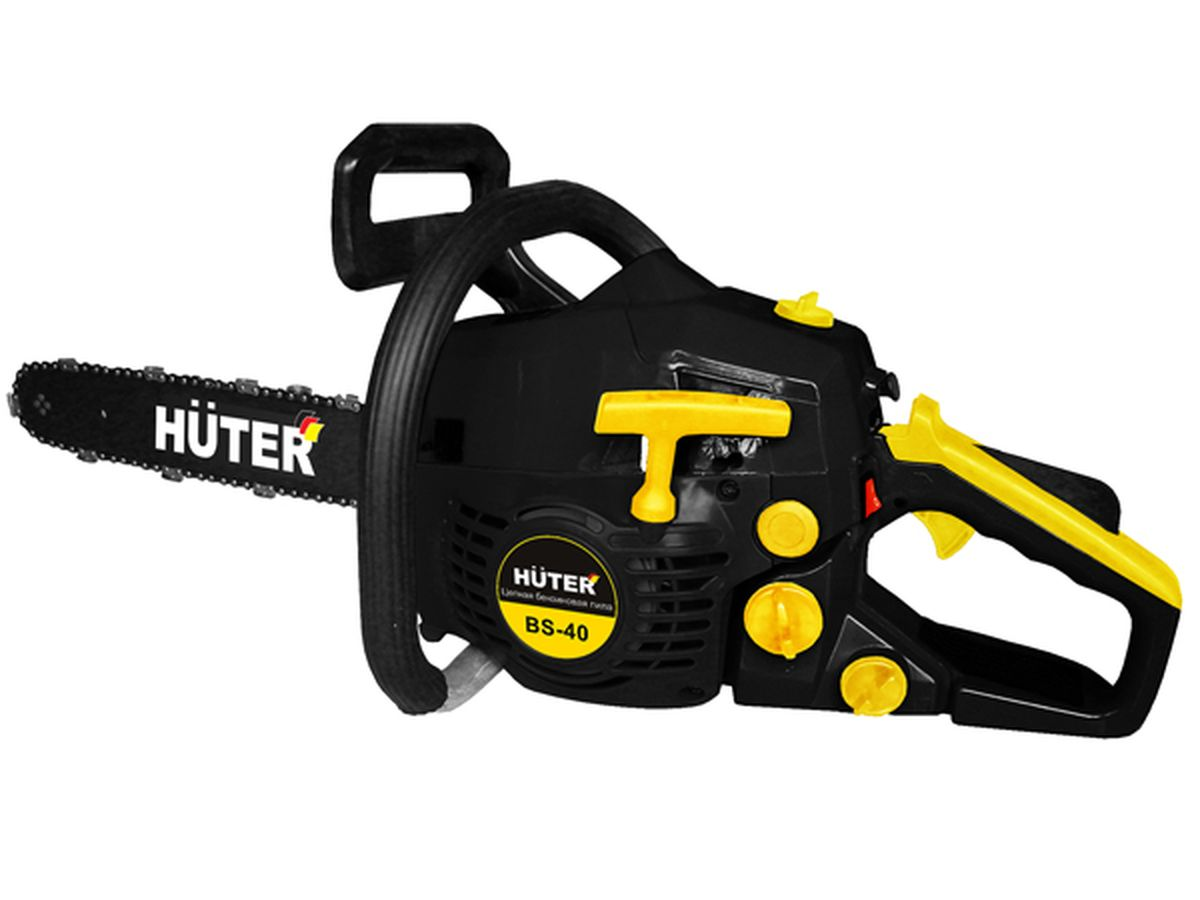 Бензопила Huter BS-40 Black-Yellow