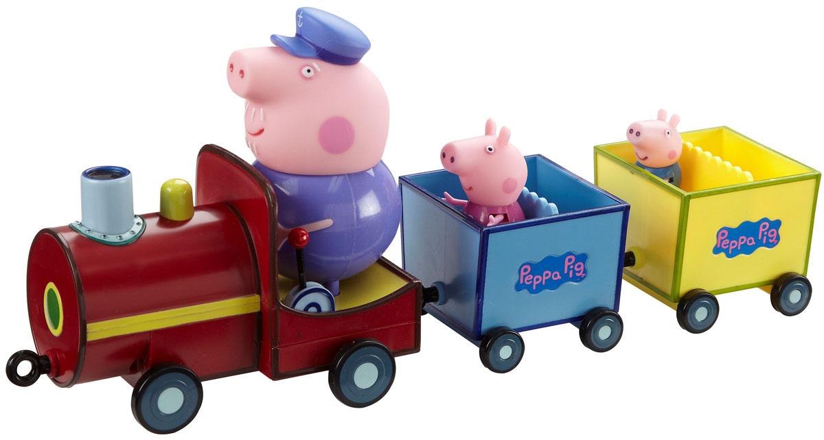 Игровой набор Peppa Pig Паровозик дедушки Пеппы игровой набор peppa pig игровой набор паровозик дедушки пеппы со звуком