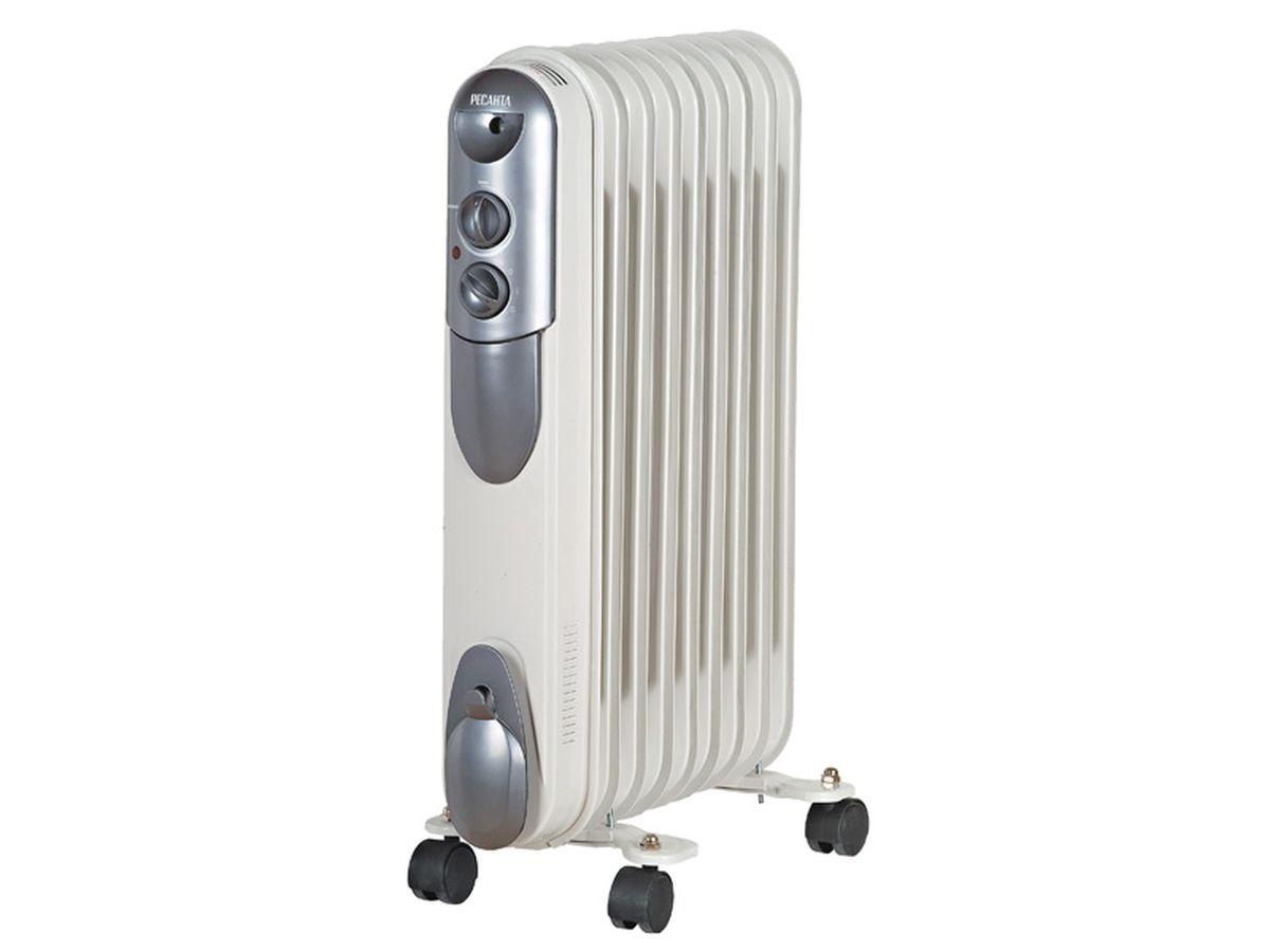 Ресанта ОМПТ-9Н (2 кВт) напольный радиатор масляный радиатор ом 7нв ресанта