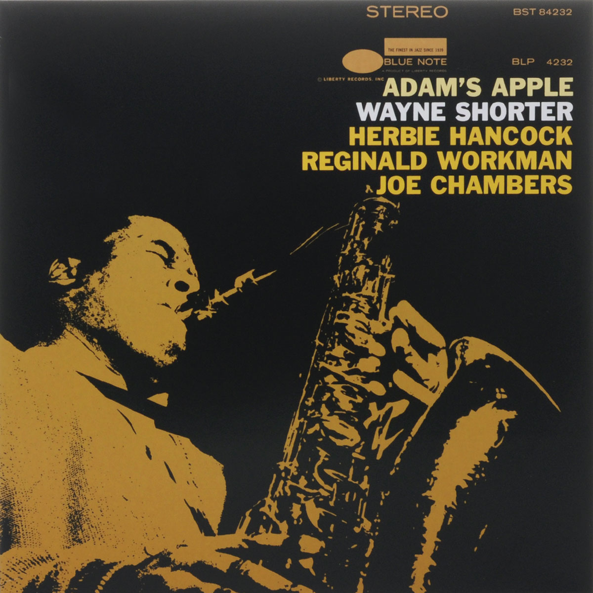 Уэйн Шортер Wayne Shorter. Adam's Apple (LP) blue note