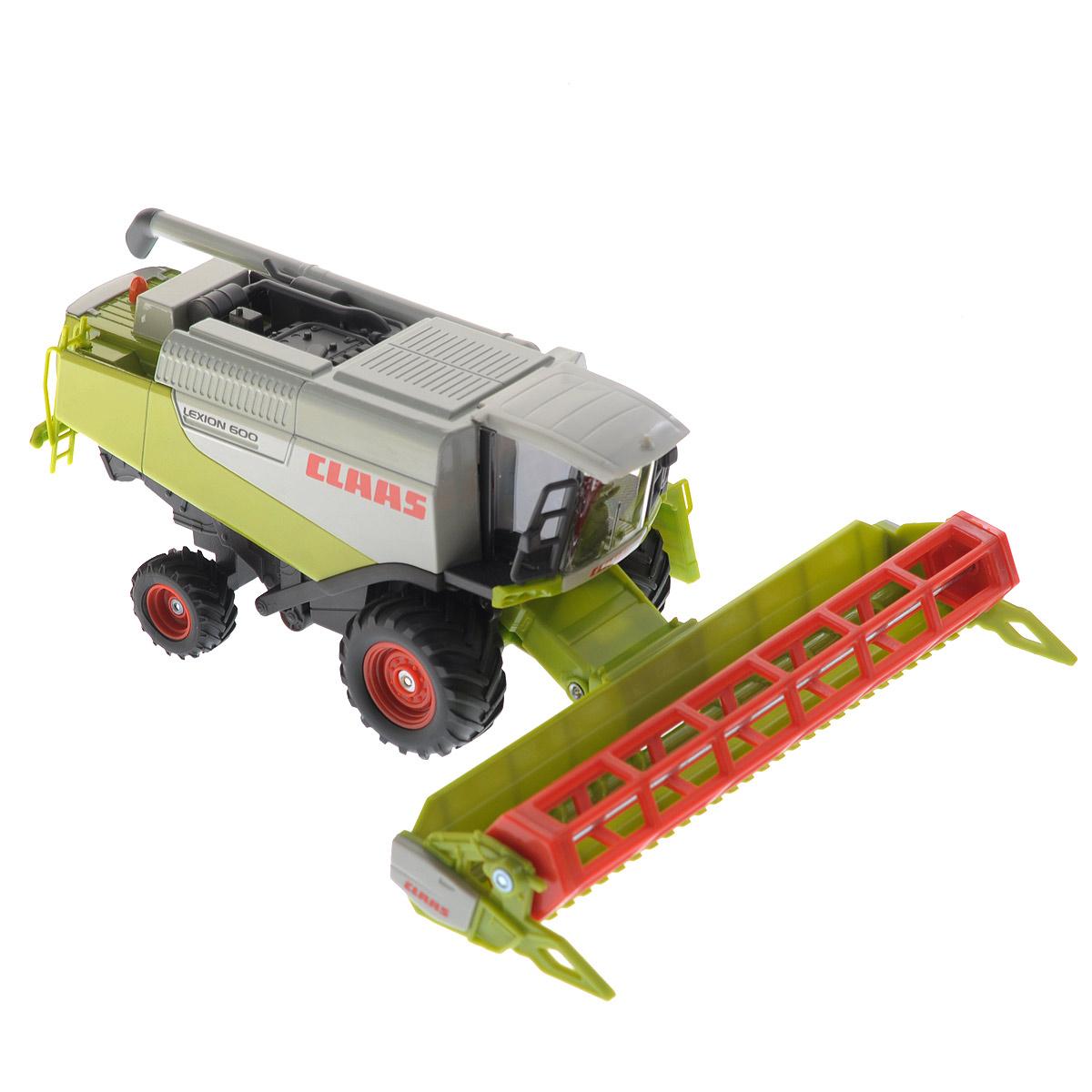 Siku Комбайн Claas Lexion 600 siku трактор claas xerion 5000