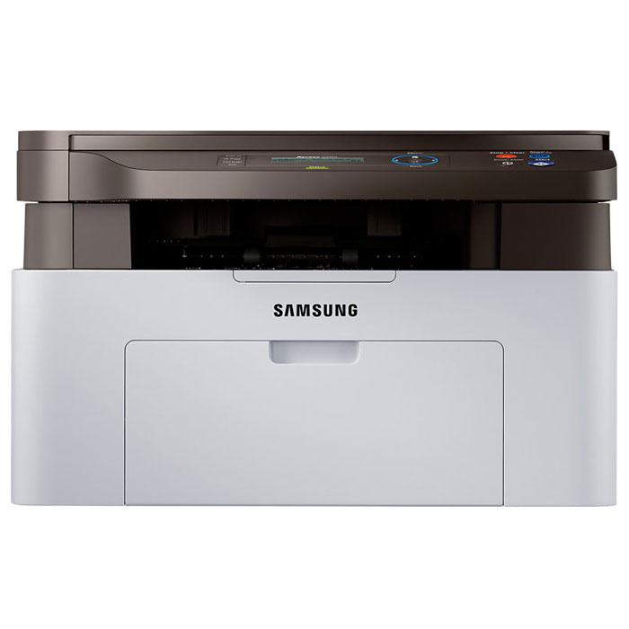Samsung SL-M2070 МФУSL-M2070/FEVБлагодаря своей универсальности, МФУ Samsung M2070 является устройством типа 3-в-1, которое обеспечивает высокую эффективность работы любого офиса. Благодаря режимам печати, копирования и сканирования, МФУ M2070 может стать незаменимым инструментом любого офиса. Поддержка копирования удостоверений (ID Copy), режима N-up копирования и сканирования с отправкой по email означают, что одно многофункциональное устройство станет отличным помощником в вашем бизнесе.Печать из облака Google Cloud, где бы вы ни находились:Сервис Google Cloud Print работает на смартфонах, планшетах, ноутбуках, ПК и других устройствах, подключенных к Интернету.Простота в использовании:Рассчитанный на простую и интуитивно понятную эксплуатацию, МФУ M2070 экономит время и усилия.Easy Printer Manager. С помощью ПО Easy Printer Manager вы сможете дистанционно управлять работой принтера. Easy Document Creator:Easy Document Creator помогает создавать цифровые документы в самых разных форматах и возможность широкого выбора способа обмена документами, включая социальные сети.Высокая скорость печати:Быстрая печать означает ускорение процесса обработки документов. Принтер оснащен процессором 600 МГц и оперативной памятью 128 MБ для печати со скоростью 20 страниц в минуту.Великолепное качество текста и изображения для ваших документов гарантировано:Текст, графики или изображения - МФУ M2070 позволяет все это отпечатать с высочайшим качеством. Высокое разрешение печати (1200 x 1200 точек на дюйм) обеспечивается изменением размера и положения точки. Это означает, что вы можете отпечатать на странице более детализированное изображение.