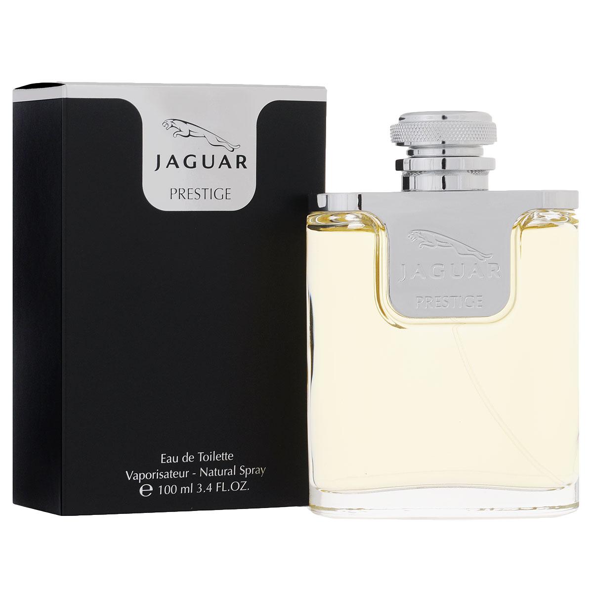 Jaguar Туалетная вода Prestige, мужская, 100 млJ480308Строгий, несравнимый и мужественный аромат Prestige от Jaguar облачен в гладкий и элегантный флакон. Флакон выполнен из качественного тяжелого стекла, а крышечка, завершающая образ, безошибочно напоминает ее обладателя о происхождении бренда и его легендарной истории.Сам аромат такой же динамичный и стремительный как и модель на колесах.Классификация аромата: древесный, пряный.Пирамида аромата:Верхние ноты: сицилийский лимон, итальянский мандарин, бергамот, груша.Ноты сердца: черный и красный перец, кардамон, мускатный орех, кориандр, аромат березовых листьев, лаванда, натуральный каучук.Ноты шлейфа: ладан, сандал, кедр, ветивер, смола, мускус, пачули. Ключевые словаМужественый, стильный, элегантный!Туалетная вода - один из самых популярных видов парфюмерной продукции. Туалетная вода содержит 4-10%парфюмерного экстракта. Главные достоинства данного типа продукции заключаются в доступной цене, разнообразии форматов (как правило, 30, 50, 75, 100 мл), удобстве использования (чаще всего - спрей). Идеальна для дневного использования. Товар сертифицирован.