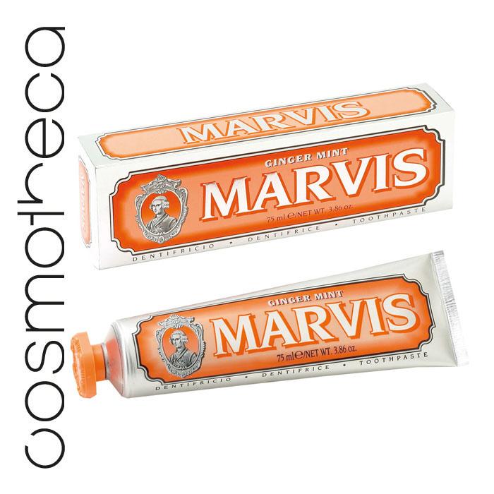 Marvis Зубная паста Мята и Имбирь 75 мл зубная паста marvis классическая насыщенная мята