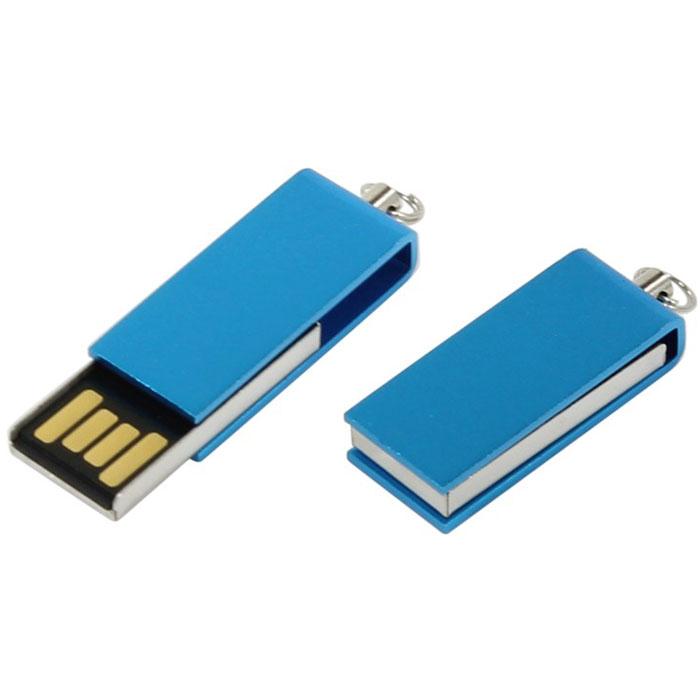 Iconik Свивел 8GB, Light Blue USB-накопитель (под логотип)MT-SWLB-8GBФлеш-накопитель Iconik Свивел выполнен в виде брелока. Накопитель имеет металлический ударопрочный корпус, а высокая пропускная способность и поддержка различных операционных систем делают его незаменимым. Флеш-накопитель Iconik Свивел имеет место для нанесения логотипа.