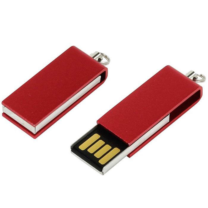 Iconik Свивел 8GB, Vinous USB-накопитель (под логотип) - Носители информации