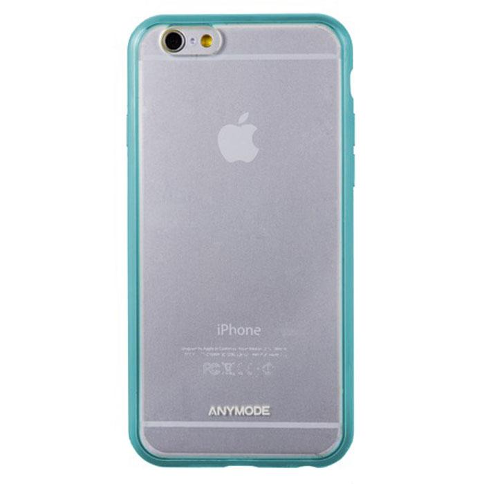 Anymode Bumper Plus чехол-бампер для iPhone 6, MintFAAK000KMTЧехол-бампер Anymode Bumper Plus для iPhone 6 защитит ваше устройство от механических повреждений и падений. Имеет свободный доступ ко всем разъемам и кнопкам телефона.