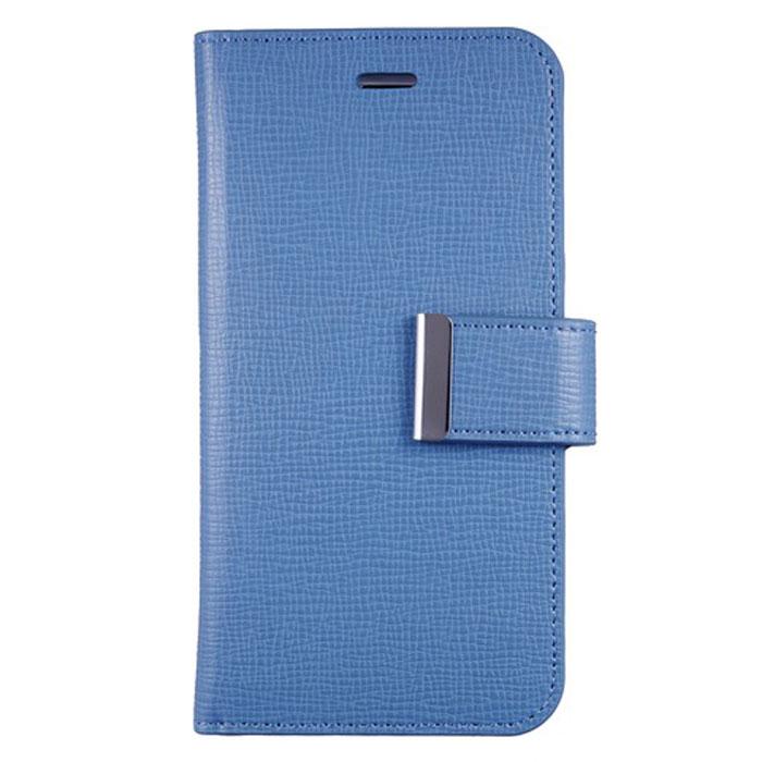 Anymode Wallet чехол для iPhone 6, Light BlueFAEP002KBLЧехол Anymode Wallet для iPhone 6 защитит экран и само устройство от механических повреждений, пыли и царапин. Выполнен в виде книжки. Чехол имеет свободный доступ ко всем разъемам телефона.