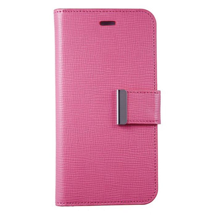Anymode Wallet чехол для iPhone 6, PinkFAEP002KPKЧехол Anymode Wallet для iPhone 6 защитит экран и само устройство от механических повреждений, пыли и царапин. Выполнен в виде книжки. Чехол имеет свободный доступ ко всем разъемам телефона.
