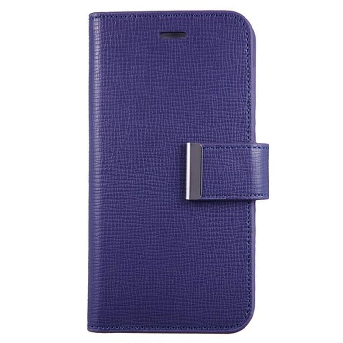 Anymode Wallet чехол для iPhone 6, PurpleFAEP002KVLЧехол Anymode Wallet для iPhone 6 защитит экран и само устройство от механических повреждений, пыли и царапин. Выполнен в виде книжки. Чехол имеет свободный доступ ко всем разъемам телефона.